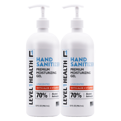 32 oz Level 1 Hand Sanitizer with Pump - 2 Pack