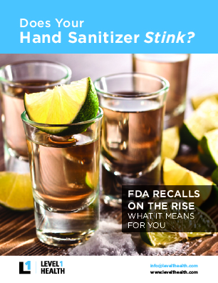Does your hand sanitizer stink? FDA recalls and how to identify poor quality hand sanitizer.